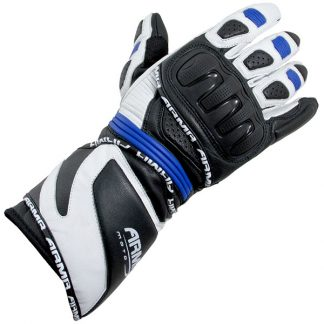 Armr Moto S550 Motorcycle Gloves Black/Blue