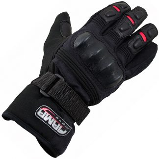 Armr Moto WP525 Motorcycle Gloves Black