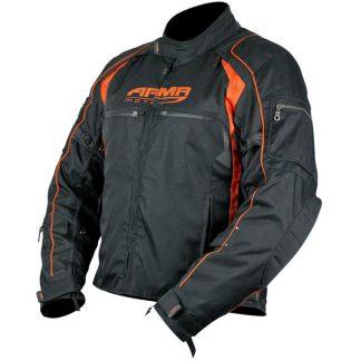 Armr Moto Ukon Motorcycle Jacket Black/Orange