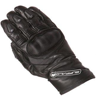 Buffalo Fresco Motorcycle Gloves Black