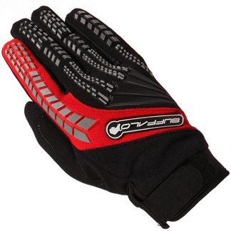 Buffalo Focus Motocross Gloves Black/Red