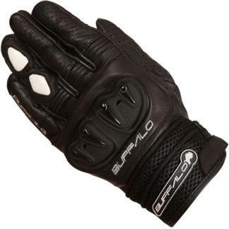Buffalo Ostro Motorcycle Gloves Black