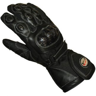 Buffalo Storm Motorcycle Gloves Black