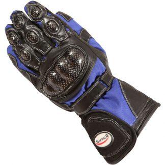 Buffalo Storm Motorcycle Gloves Blue