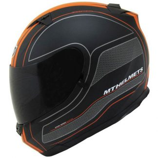MT Blade SV Race Line Motorcycle Helmet Matt Black/Orange