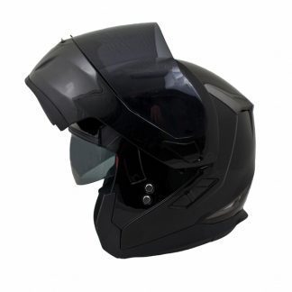 MT Flux Motorcycle Helmet Gloss Black