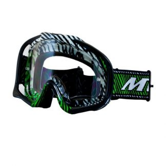 MT Motocross Goggles Green