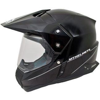 MT Synchrony Dual Sport Helmet Gloss Black