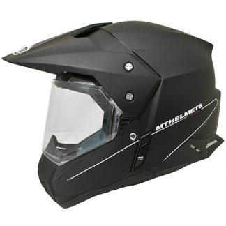 MT Synchrony Dual Sport Helmet Matt Black