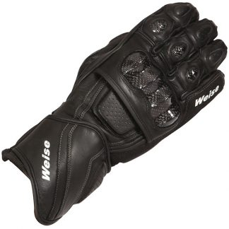 Weise Romulus Motorcycle Gloves Black