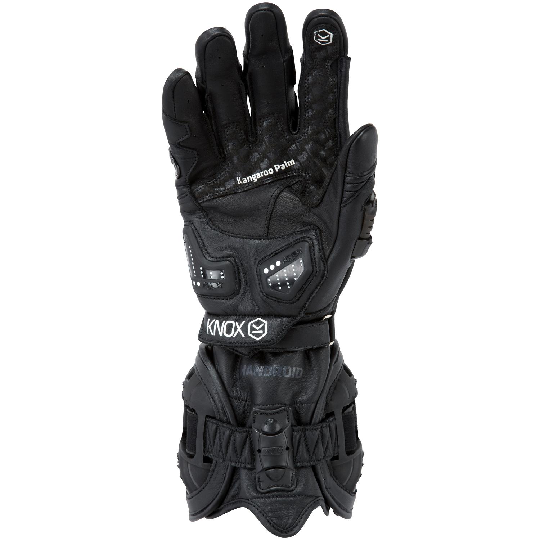 Motorcycle gloves exoskeleton - Knox Handroid Motorcycle Gloves Black Lightbox Lightbox