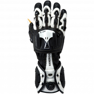 Knox Handroid Motorcycle Gloves Black/White