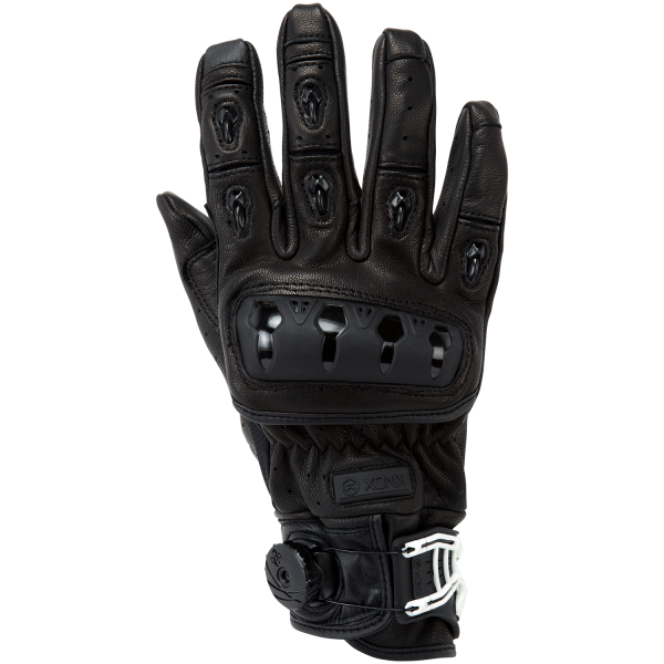 PB Dell Leather Motorcycle Gloves Knox SPS Armoured Motorbike Racing Sports
