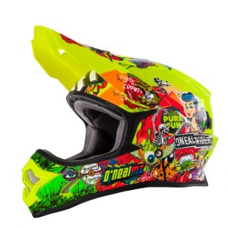 Oneal 3 Series Crank Motocross Helmet