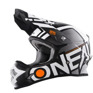 Oneal 3 Series Radium Motocross Helmet Black