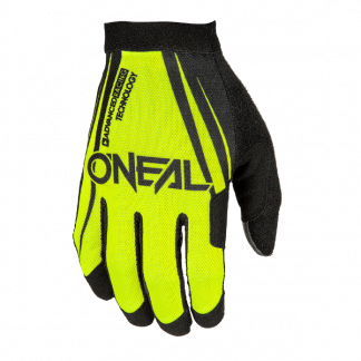 ONeal AMX Blocker Motocross Gloves Yellow