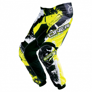 ONeal Element Shocker Motocross Pants Yellow