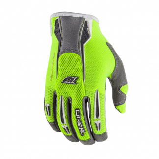 ONeal Revolution Motocross Gloves Yellow