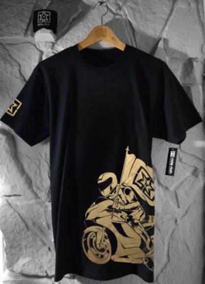 Ride Rich Like Champions T Shirt Gold