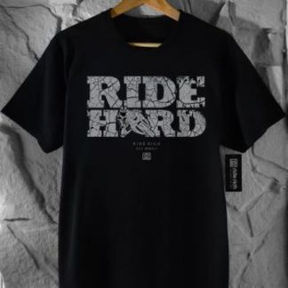 Ride Rich Ride Hard Concrete T Shirt