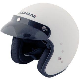 Duchinni D501 Open Face Motorcycle Helmet White