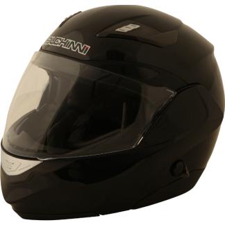 Duchinni D605 Flip Front Motorcycle Helmet Black
