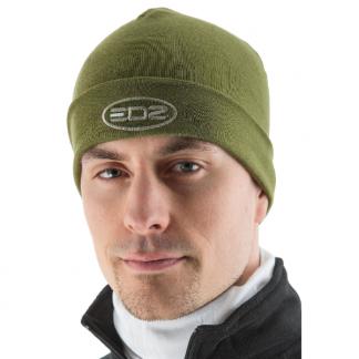 EDZ Merino Wool Motorcycle Beanie Olive