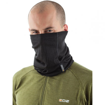 EDZ Merino Wool Multi Tube Black