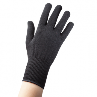 EDZ Merino Wool Thermal Liner Gloves Black
