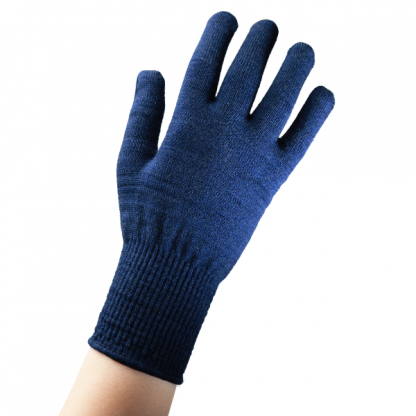 EDZ Merino Wool Thermal Liner Gloves Blue