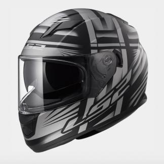 LS2 FF320 Stream Bang Motorcycle Helmet Titanium
