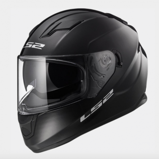 LS2 FF320 Stream Motorcycle Helmet Gloss Black