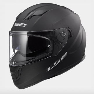LS2 FF320 Stream Motorcycle Helmet Matt Black
