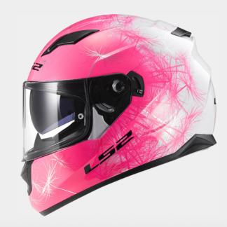 LS2 FF320 Stream Wind Motorcycle Helmet Pink