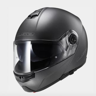 LS2 FF325 Strobe Motorcycle Helmet Matt Titanium