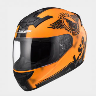 LS2 FF352 Rookie Fan Motorcycle Helmet Orange