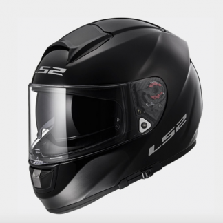 LS2 FF397 Vector Motorcycle Helmet Gloss Black