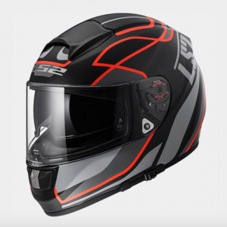 LS2 FF397 Vector Vantage Motorcycle Helmet Red