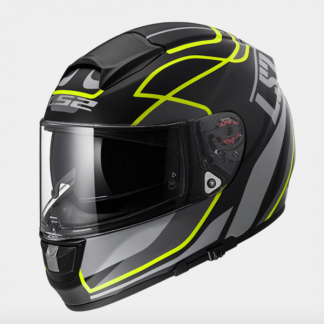 LS2 FF397 Vector Vantage Motorcycle Helmet Yellow