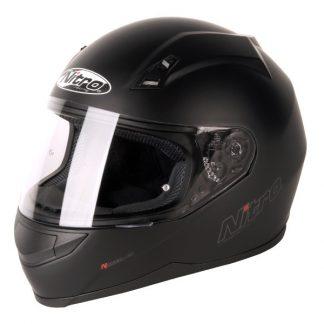 Nitro N2000 Uno Motorcycle Helmet Matt Black