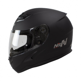Nitro N2400 Uno Motorcycle Helmet Matt Black
