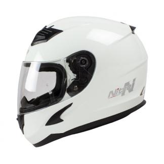 Nitro N2400 Uno Motorcycle Helmet Gloss White