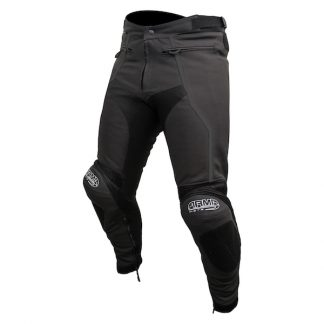 Armr Moto Raiden 2 Leather Motorcycle Jeans Black