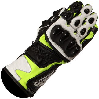Buffalo BR30 Motorcycle Gloves Yellow