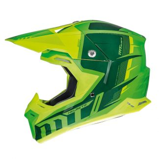 MT Synchrony Spec Motocross Helmet Green