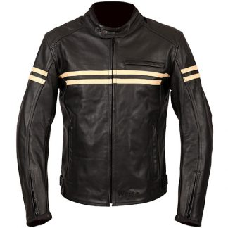Weise Brunel Leather Motorcycle Jacket Black