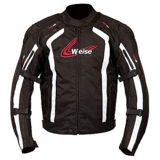 Weise Corsa Motorcycle Jacket Black