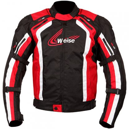 Weise Corsa Motorcycle Jacket Red
