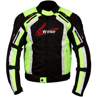 Weise Corsa Motorcycle Jacket Yellow