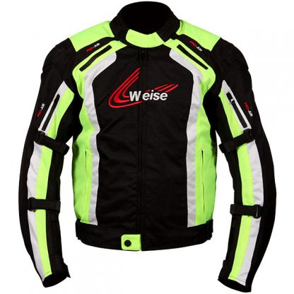 Weise Corsa Motorcycle Jacket Yellow